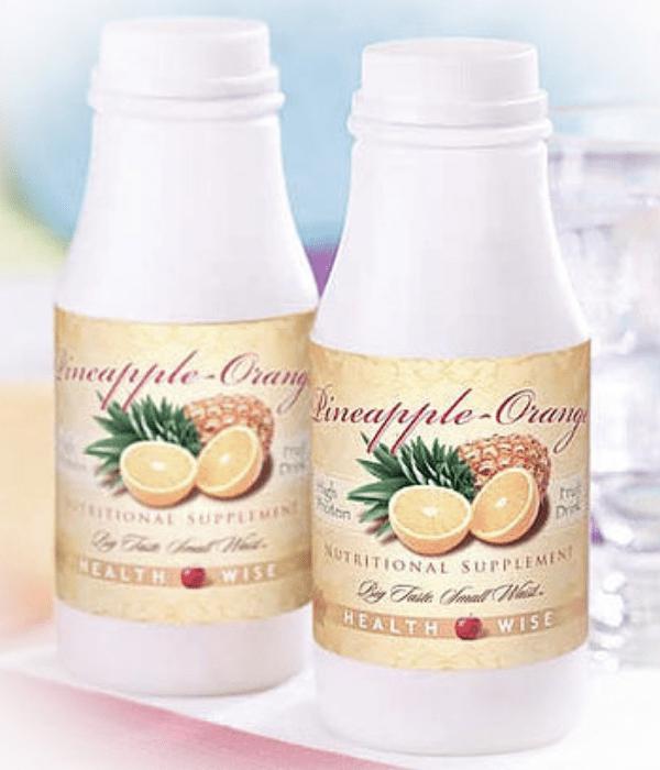 Orange Pineapple Protein Shake
